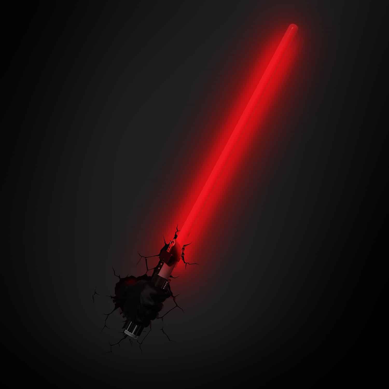 La lampe 3D Star Wars une applique murale pour votre côté obscur