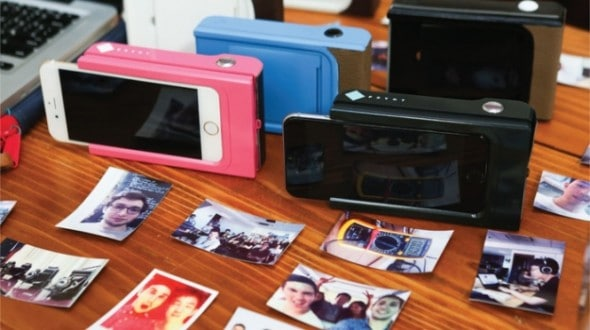 appareil photo instantané pour iPhone Prynt