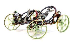 robot VertiGo de Disney, une voiture qui roule sur les murs