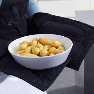 tablier professionnel royal VKB gants anti chaleur intégrés