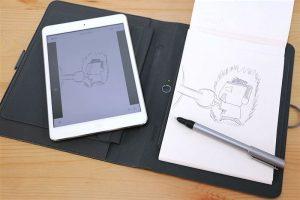 bloc-notes numérique Wacom Bamboo Spark pour tablette