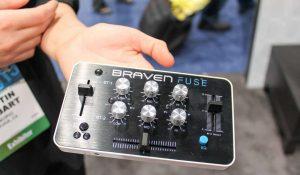 mini table de mixage bluetooth portable braven fuse contrôleur DJ