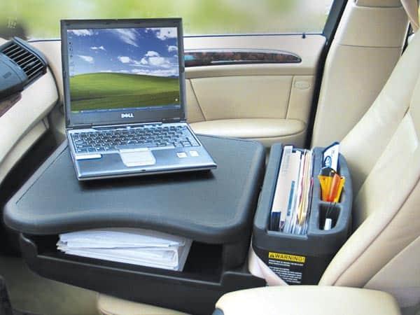 bureau pour voiture travailler dans la voiture arkas