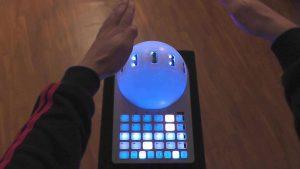contrôleur MIDI Crystall ball Naonext pour DJ