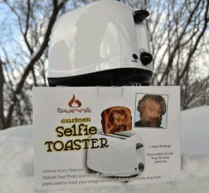 grille pain original selfie toaster