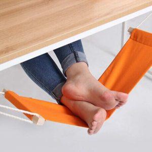 mini hamac pour les pieds au bureau
