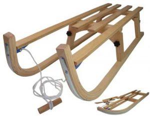 luge en bois pliable davos alpengaudi