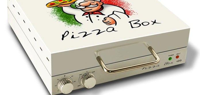 mini four électrique Pizza Box featured