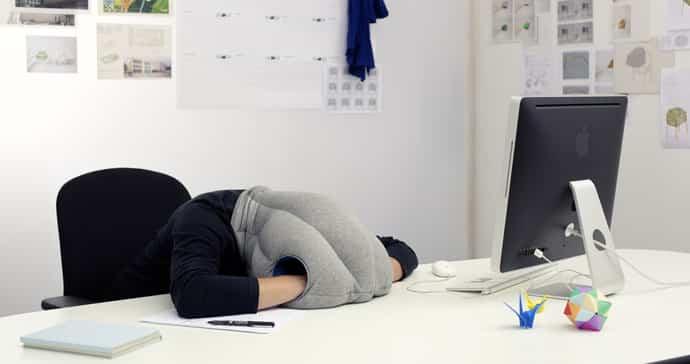 ostrich pillow oreiller pour la sieste
