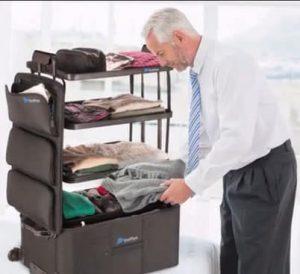 valise shelfpack mini dressing de voyage