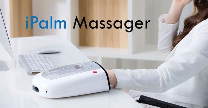 appareil a reflexologie des mains et massage des mains