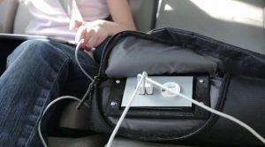 comment charger une batterie avec le sac GoPlug