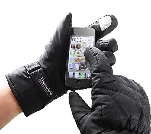 gants chauffants tactiles dual fuel warmawear