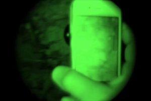 vision nocturne avec le Snooperscope