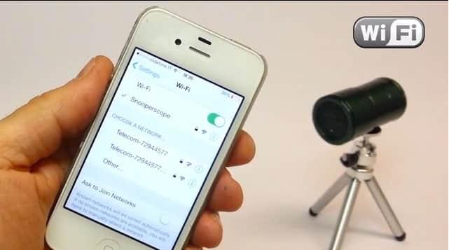 camera infra rouge sans fil Snooperscope