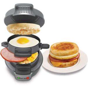 machine egg muffin maison Hamilton Beach Breakfast Sandwich Maker