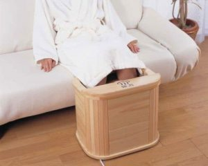 faire un bain de pied maison avec machine pokapoka