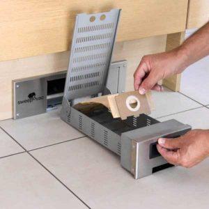 sweepovac aspirateur de cuisine pour plinthe ramasse miettes