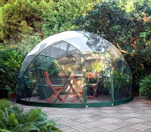 Garden Igloo veranda salon d'hiver abri de jardin design et moderne