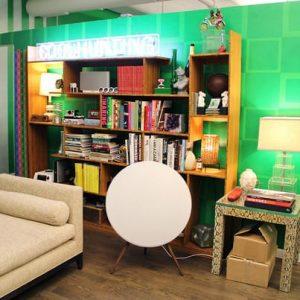 enceinte haut de gamme bluetooth design murale pour salon Bang & Olufsen Beoplay A9