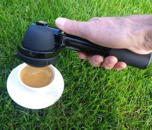 expresso dans le jardin avec la Handpresso Pump
