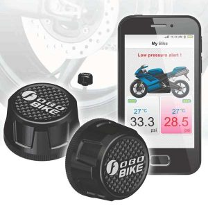 FOBO Bike capteur TPMS pression pneus moto
