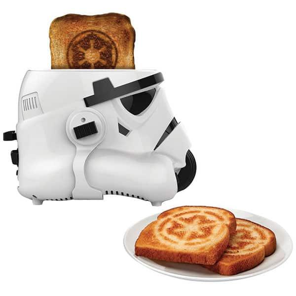 Le Grille Pain Star Wars Stormtrooper Fait Toaster Le C 244 T 233