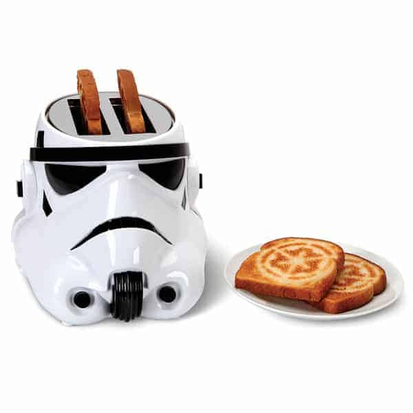grille-pain Star Wars toaster Stormtrooper