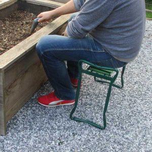 tabouret pour jardinier agenouilloir aidapt