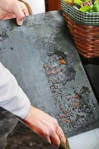 nettoyage tapis de cuisson bbq