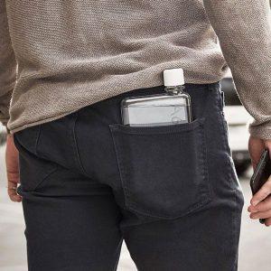 memobottle A6 dans la poche arriere