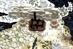 le mur et castle black du puzzle 4D Cityscape game of thrones