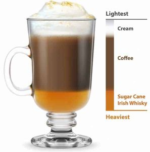 composition d'un irish coffee